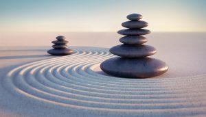 Steine Sand Strand, Entspannungstherapeut