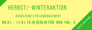 Ausbildung Stressmanagement