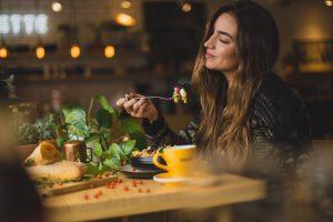 Genießen beim Essen