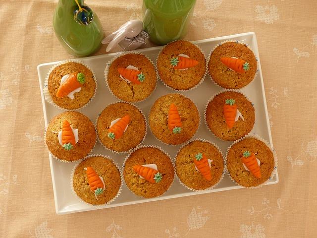 Karrotten-Apfelmuffins